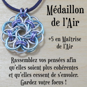 Médaillon de l'air